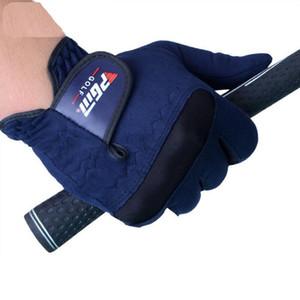 قفازات الغولف ل مان 1 قطع تبديد الحرارة زيادة الاحتكاك امتصاص العرق فائقة الألياف جولف اكسسوارات guantes جولف شحن مجاني