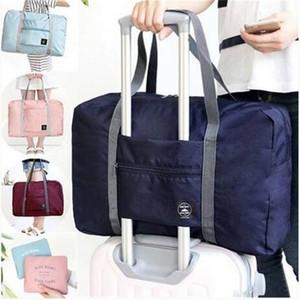 Горячие продажи складной водонепроницаемый хранения багажа сумки чемодан путешествия сумка организатор TotHandbag плеча Bage сумка для хранения сумки