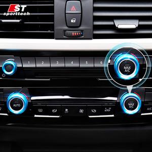 venta al por mayor Car Styling anillo de la cubierta del botón del aire acondicionado para BMW 1/2/3/4 serie F20 / F21 / F22 / F23 / F45 / F30 / F31 / F34 / F35 / F32 / F33 / F36 partes