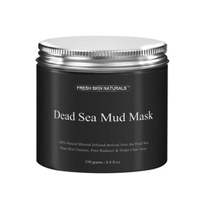 Maschera di fango del Mar Morto per la maschera viso purificazione del corpo e del corpo per il pulitore di pori della pelle oleosa dell'acne