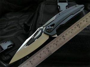 ZT cuchillos plegables 0999 ZT0999 ZT0999CF alta calidad balll teniendo G10 mango aleta ciclismo Defensa cuchillo de pesca navaja de regalo