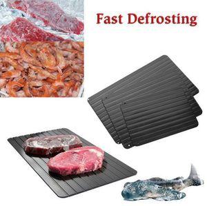 Plateau à dégivrage rapide Cuisine Le moyen le plus sûr de décongeler de la viande Des aliments surgelés sans électricité Décongeler au micro-ondes congelé OOA4799