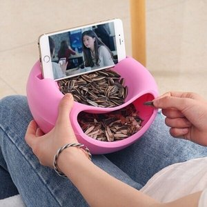 Cell Phone Tablet Desk Stand Holder Creative Shape Bowl Perfect For Seeds Nuts And Dry Fruits Storage Box mounts