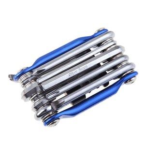 11 in 1 Fahrrad Schraubenschlüssel Schraubendreher Repair Tool Set MTB Rennrad Radfahren Multifunktionale Kette Wartung Tool Kit