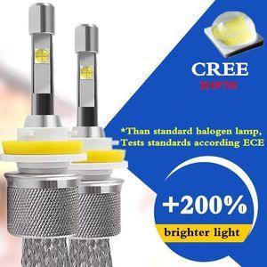 Car Headlight H7 H4 LED H1 H8 H11 HB3 9005 HB4 9006 H3 9012 HIR2 55W 13200lm Cree XHP70 Chips 6000K Light Auto Headlamp Bulbs