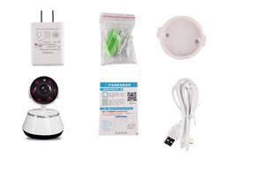 V380 Mini IP Camera Wireless Camera Wireless Night Vision Two-way Audio Robot camera for Baby Monitor Security Surveillance