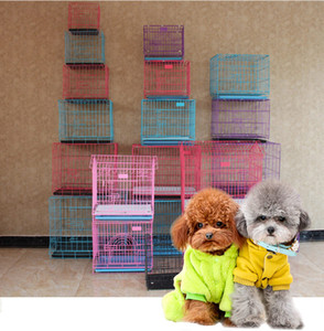 Fashion Sturdy Durable Fine Workmanship Foldable Pet Wire Dog Cat Cage Suitcase Kennel Playpen With Tray More Size