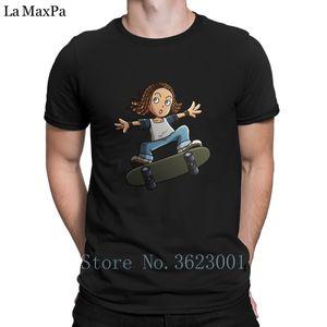 Kundengebundenes Sonnenlicht-T-Shirt Wolken-Skate-Brett-Tricks T Shirt Flippiges Rundhals-T-Shirt komisches T-Shirt Muster-Hiphop-Oberteile