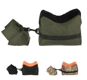 휴식 베개 FrontRear sandbag 모래없이 고정 된 라이플 광경을 지원 스나이퍼를위한 시력 클립 사냥 대상 스탠드 사냥 총