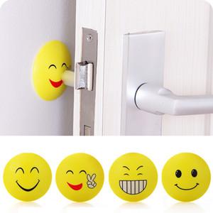 Emoji Anti-choc Pad Poignée de Porte Bouton Serrure de Porte Anti-choc Pad Emoji Crash Pad Protecteur de Mur Autocollants Pour Voiture Protecteurs de Coin WX9-255