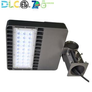 24W 48W LED Shoebox ضوء منطقة وقوف السيارات ملعب ضوء ملعب لاعبا أساسيا مصباح الفيضانات الإضاءة 5000K ETL DLC المعتمدة