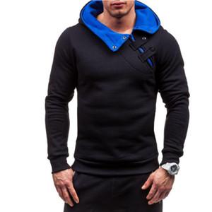Sudadera con capucha de marca Soild Warmth Nuevas sudaderas con capucha de costura Hombres Chándal de moda Sudadera con capucha para hombre Tour de propósito para hombres Venta caliente Tops