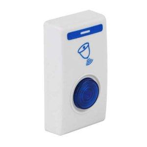 Kablosuz 504D LED Çan Kapı Bell Kapı Zili Kablosuz Uzaktan kumanda 32 Dinle Şarkıları Beyaz Ev Güvenlik Kullanımı Akıllı Kapı Bell