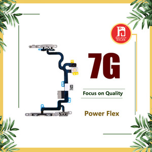 Pour Apple iPhone 7 4.7 Puissance Flex Volume Power Off Off Bouton Bouton de commande de commutateur Connecteur Flex Câble Réparation Pièces De Rechange pour iPhone 7g
