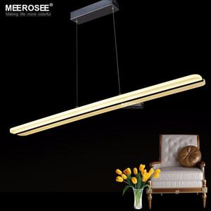 Modern Light LED Pendant Fitting rettangolo acrilico LED della lampada Lustri Dining Restaurant illuminazione lamparas decorazione domestica Luminaire Suspendu