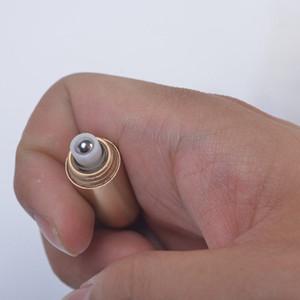 Moda creativa de oro plata perfume rollo en botella neclaces colgantes para mujeres hombres envío rápido F809