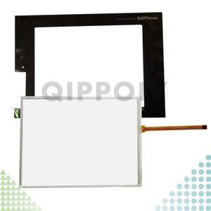 GT1672-VNBA GT1672-VNBD GT1672 Yeni HMI PLC dokunmatik ekran paneli dokunmatik Ve Ön etiket