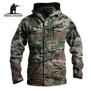 MEGE Men Tactical Militar Clothing US Army M65 Chaqueta, Multicam Jaqueta Masculina Inverno Jaqueta Masculino, Men Windbreakers