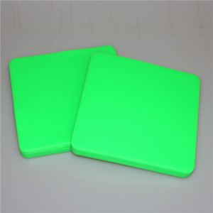 High quality Largest Silicone Pizza Concentrate silicone wax container 200ml Square Container Wax Jars Dishes Mats Dab Dabber Tool Large Jar