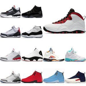 Unisexe Hommes Femmes Basketball Chaussures 11s 10s 12s 13s 5s Cap et robe Concord Il Got Game Cement Sport Sneaker Taille 5.5-13