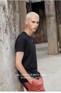 حار رجل قصير كم t قميص جديد الصيف الهيب هوب تي للرجال مصمم المعتاد بلايز القطن