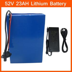 52 V 23AH Lityum Pil 2000W 52 V 23Ah Elektrikli Bisiklet Bataryaları BMS Şarj Cihazı ile NCR18650PF Hücresini Kullanın