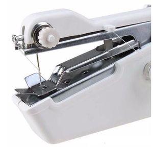 핸디 스티치 휴대용 전기 재봉틀 미니 휴대용 홈 재봉 빠른 테이블 휴대용 싱글 스티치 핸드 메이드 DIY 도구 b751