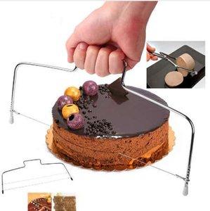 Нержавеющая сталь горячие кухонные инструменты проволока Slicer торт резак хлеб резки выравниватель украшения делитель Slicer инструмент приготовления инструмент