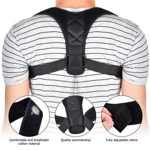 Voltar Apoio Belt Posture Corrector Suporte Corset Voltar ombro cintas Spine Saúde escoliose Postura Correction