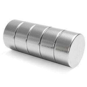 5 PCS N52 Disque Circulaire Néodyme Plus Forte Aimant 20mm Dia x 10mm