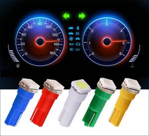 자동차 인테리어 LED 조명 T5 74 1 SMD 5050 대시 보드 게이지 전구 악기 램프 6 색 DC 12V