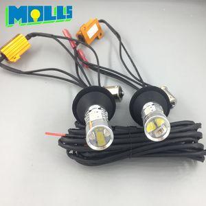 Molls a conduit Py21w Bau15s 1156 150degree voiture lumière DRL Daytime Running Light avant clignotant tout en un