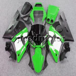 Tornillos personalizados + artículo YZFR6 98-02 verde YZF-R6 1998 1999 2000 2001 2002 carenado de motocicleta ABS para Yamaha