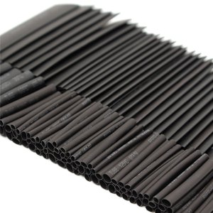 127pcs 2:1 7 Sizes Assortment Polyolefin Halogen-Free Heat Shrink Tubing Tube Sleeving Wire Cable Kit Best Price