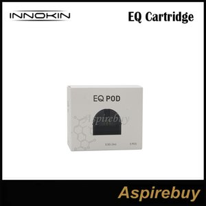Innokin EQ картридж 2 мл замена магнитный Pod картридж с крышкой 0.5 ohm сплетения катушки для MTL Vape EQ Starter Kit 100% оригинал
