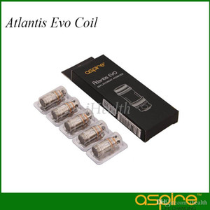 Aspiração Atlantis EVO Bobina 0.4ohm 0.5ohm Clapton Cabeça Da Bobina com Eficiência Wicking Duplo para Atlantis EVO Tanque 100% Original