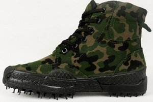 Outdoor Shoes Camouflage thickening breathable wearable canvas shoes for women and men shoes size 35-46
