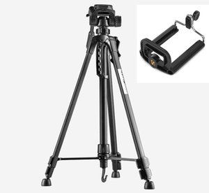 Photo Tripod stand for Camera Camcorder WF-3520 Black tripod tripe extensor para foto with handle head Bag Phone Holder