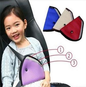 Titulaire de ceinture de sécurité pour enfants enfants Détendeur de sécurité Mesh Triangle De Retenue de Sécurité Pour Bébé Ceinture de sécurité pour Ceinture Adjuster Clip Accessoires C4162