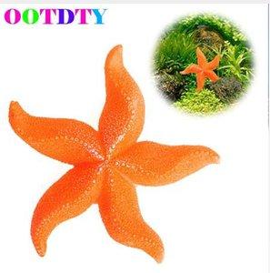 Decorazione dell'acquario della stella marina della resina del corallo artificiale del mare del paesaggio del carro armato di pesce dell'acquario