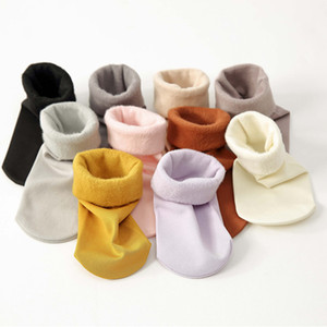 Women Winter Thick Socks Warm Autumn and Winter Velvet Cute Socks Fleece Thickening Sock Candy Color 4pairs/lot