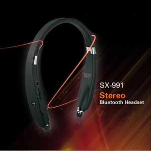 Wireless Bluetooth Neckband SX-991 4.1 Sport Stereo SX991 Earphone Headphone with MIC Bass for IPhone Samsung LG Android Huawei xiaomi