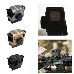 Tactical di Eg1 Optischer roter Punktreflex-Sicht 1.5 MOA-holographisches Anblick für 20-mm-Schiene-Jagdbereich Schwarz / Gold / Silber