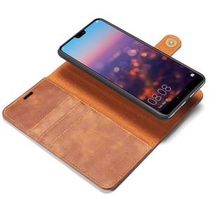 Nouveau Etui en cuir rétro pour Huawei P9 Mate 9 10 P10 Plus Flip Cover pour Huawei P20 Pro P20 Lite P8 Lite 2017 Coque arrière magnétique