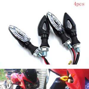 2 개 세트 / 페어 범용 12V LED 오토바이 방향 지시등 조명 증거 라이트 D 'Water / ABS lamp Original Project