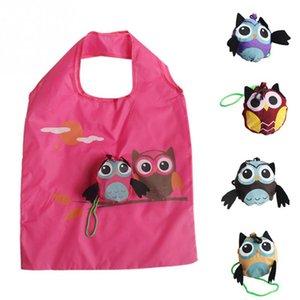 Симпатичные животных Сова форма складной сумка Эко дружественных дамы подарок складной многоразовые сумка портативный путешествия сумка RandomColor 3 шт.