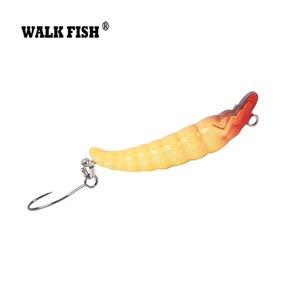 Мини карандаш приманки 3.5 см 2.4 г медленно тонет реалистичные червь жесткий Рыбалка приманка форель приманки владелец один крюк HH042 Y18100906