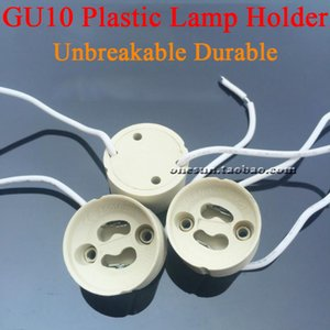 Sockets bulbo GU10 Lâmpada de plástico para luzes LED Unbreakable de lâmpadas Sockets Durable Titular base da lâmpada