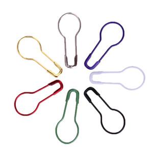 Perni di sicurezza a colori misti Calabash Gourd Shape Pin di sicurezza perni Pin Craft Craft Knitting Stitch Holder Accessori 1000 pezzi
