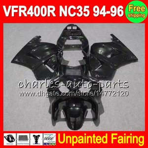 8Gifts Unpainted Kit Carenagem Completa Para HONDA VFR400R NC35 94-96 VFR 400R 400 VFR400 R RVF400R 94 95 96 1994 1995 1996 Carenagens Carroçaria Carroçaria